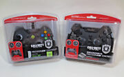 2x Mad Catz Ps3 And Xbox 360 Call Of Duty Black Ops Precisionaim Controllers New