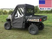 Doors And Rear Window Combo For Polaris Ranger Xp - Soft Material