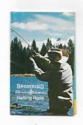 Browning Arms Company Silaflex Fishing Rods Illustrated Fishing Rods Brochure
