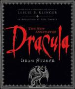 The New Annotated Dracula By Bram Stoker English Hardcover Book Free Shipping