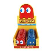 Pac-man Video Game Ghost Shaped Candy In Blinky Metal Tins Box Of 18 New Sealed