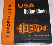 Drives Usa 80 Chain 10and039 For Skid Steer Loader Bobcat New Holland Case Thomas