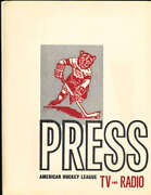 1964 Hershey Bears Ahl Press Photo Guide Kit 15 Team Issue Press Photoand039s