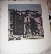Lawrence Kupferman Color Etching On Paper The Victorian Mansion 1971 Smithsonian