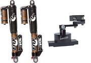 Fox Front Float 3 Evol Rc2 Front Shocks + Precision Steering Stabilizer Yfz450r