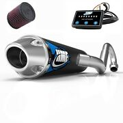 Hmf Competition Comp Full System Exhaust + Efi Optimizer + Kandn Filter Trx 700xx