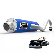 Hmf Performance Blue Full System Exhaust And Efi Yamaha Raptor 700 2015 - Current
