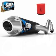 Hmf Competition Comp Full System Exhaust Pipe + Jet + Uni Foam Filter Ltz 400