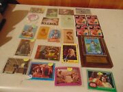 Baseball Card Collection And Misc Tobacco George Brett Star Wars Beatles Jaws