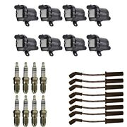 New Ignition Coil Pack 8 Herko Coils + 8 Bosch Splugs + 8 Acdelco Wires