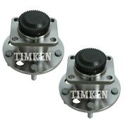 Pair Set 2 Front Timken Wheel Bearing And Hub Kit For Chevy Corvette 1984-1990 Rwd