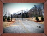 Driveway Entry Gate 14ft Wd Ds Incls The Post Package Home Residential Security