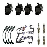 4 Adp Coils +4 Bosch Spark Plugs +4 Acdelco Wires +1 Oem Bracket And Harness