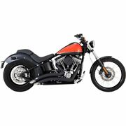 Vance And Hines Black 4.5 Pro-pipe 2-into-1 Exhaust System - 47583