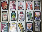Topps Wacky Packages-- 7th Series, Complete 17 Doubles Spiegelman Art