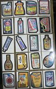 Topps Wacky Packages-- 1st Rerun Series 1979, Missing 14 65 Doubles
