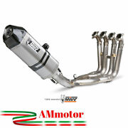 Full Exhaust System Mivv Bmw S 1000 Rr 2010 Speed Edge Steel Motorcycle