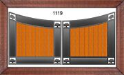 On Sale Driveway Gate 1119 12and039 Wd Steel Wood Home Security Veteran Discount
