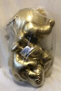 Disney Mickey Mouse True Original Plush Gold Large And Small New