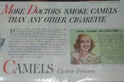 More Doctors Smoke Camels Advertisement Magazine Collectible Cigarettes Eps19675