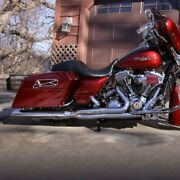 Dandd 21 Chrome Boss Boarzilla Back Cut Wrapped Baffle Exhaust Harley Touring