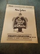 The Fiendish Plot Of Dr. Fu Manchu1980peter Sellers Orig Pressbook And Ad Mats