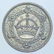 Very Rare 1931 Wreath Crown British Silver Coin George V [only 4056 Struck]