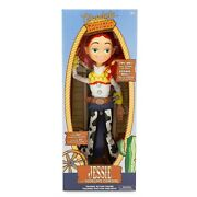 New Disney Parks Jessie Talking Doll Figure Toy Story Pull String 15 Cowgirl