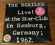 The Beatles Live At The Star - Club In Hamburg Germany 1962 Original Lp Sealed