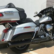 Dandd Chrome Diablo Gato 21 30 Degree Angle Exhaust System Harley Touring 09-16
