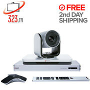 Polycom Group 300 New In Box Complete W/ Eagleeye Iv-12x Camera 7200-64240-001