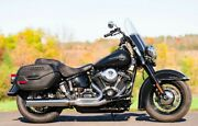 Dandd 21 Chrome Fat Cat Straight Back Exhaust Pipe System Harley M8 Softail 2018+