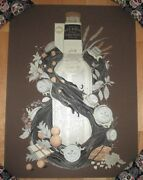Goose Island Poster Bourbon County Black Friday 2018 Art Craft Beer Brewery