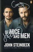 James Franco Chris O'dowd Of Mice And Men Signed Play Book Broadway