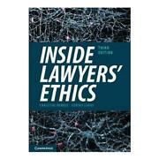 Inside Lawyers' Ethics 3rd Edition By Christine Parker English Paperback Book