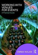 Working With Venues For Events A Practical Guide By Emma Nolan English Paperb