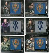 Warcraft Movie - Autograph Relic Prop And Patch Card Selection Nm Topps 2016