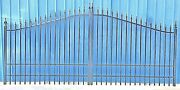 Inc. Post Pkg. Driveway Gate 1122 14and039 Wd Home Yard Outdoor Improvement Security