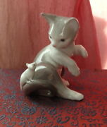 Lladro 5236 Cat And Mouse Playful Kitten Porcelain Figurine No Box