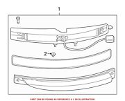 For Bmw Genuine Tail Light Assembly Rear Left 63214859157