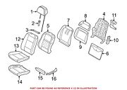 For Bmw Genuine Seat Back Cover Front Left 52107352285