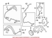 For Bmw Genuine Power Steering Pump Front 32416796493