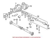 For Bmw Genuine Cv Axle Assembly Rear Right 33207581022