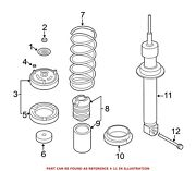 For Bmw Genuine Shock Absorber Rear Right 37126785536