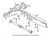 For Bmw Genuine Drive Axle Assembly Rear 33107630828
