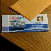 King Spa Admission Tickets For 4 Palisades Park Nj