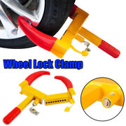 Wheel Lock Clamp Boot Tire Claw Auto Car Truck Rv Boat Anti-theft Towing