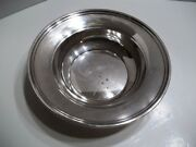 Reed And Barton Silverplate Bowl 1207 - 9 3/4 In Diameter And 2 1/2 Tall