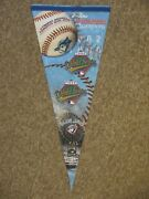 Huge Toronto Blue Jays 1992 And 1993 World Champs Pennant. 40 Long, 17 Wide