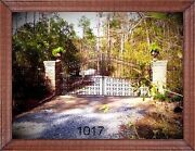 Includes The Post Package Custom Driveway Gate 16 Feet Wd Ds Home Security